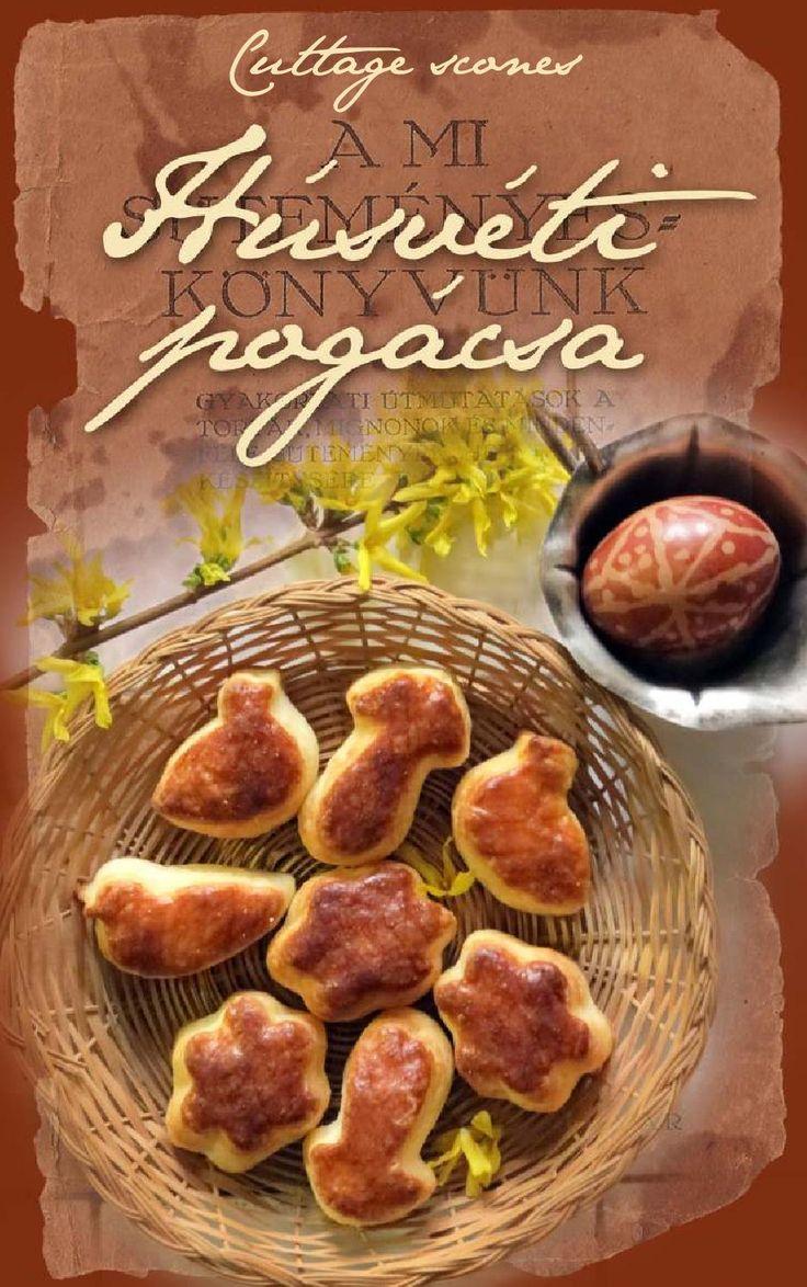 Húsvéti pogácsa / Cuttage scones