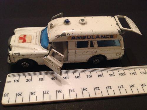 """Matchbox Speed Kings, K-26 Mercedes Benz """"Binz"""" Ambulance, Made By Lesney Prod - http://www.matchbox-lesney.com/?p=8733"""