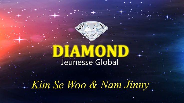 주네스 글로벌 한국 최초 다이아몬드 소개 영상 Jeunesse Global Korea First Diamond Director