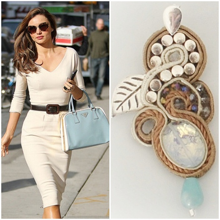 earring outfit If Miranda wore FOLIAGE #earrings with this #outfit?     http://edefjewels.blogspot.it/2012/11/foliage.html