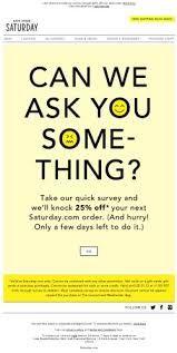 Best Feedback Survey Emails Images On   Email Design