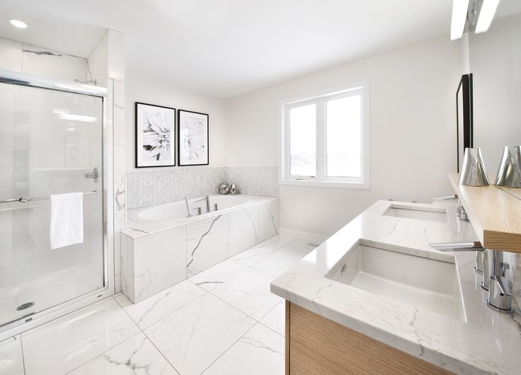 This is the ensuite bath of the Bancroft model home at our Poole Creek community in Stittsville/Kanata.