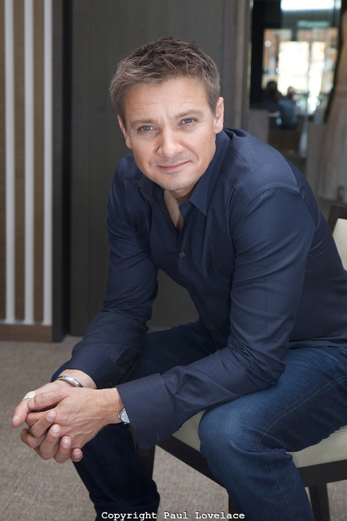 Jeremy Renner - love this guy! Photography by Paul Lovelace