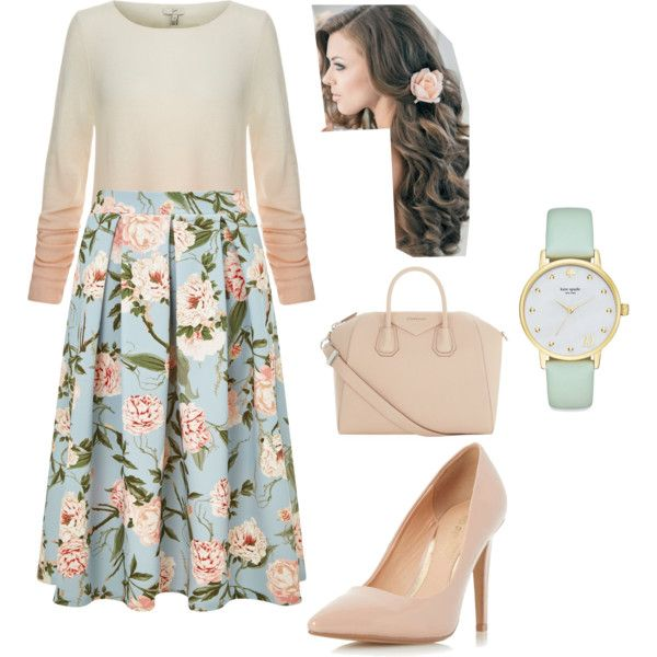 A fashion look from April 2016 by modestfashion16 featuring Joie, Miss Selfridge, Dorothy Perkins, Givenchy and Kate Spade
