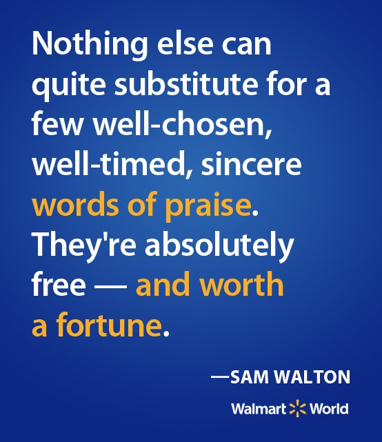 sam walton a leader with an innovative vision A strategic management paper on wal-mart abstract sam walton, a leader with an innovative vision, started his own company and made it into the leader in discount.