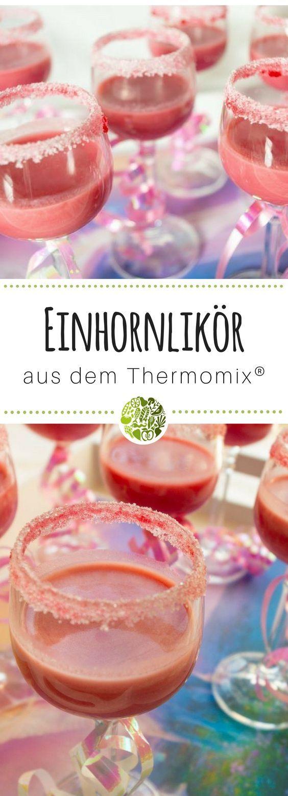PARTY ON! 🦄 EINHORNLIKÖR AUS DEM THERMOMIX®️Du planst einen Geburtstag od…  – will-mixen.de Rezepte aus dem Thermomix