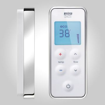 Mira Vision Pumped Digital Mixer Shower and Remote. Shower Kits from UK Bathrooms : UK Bathrooms