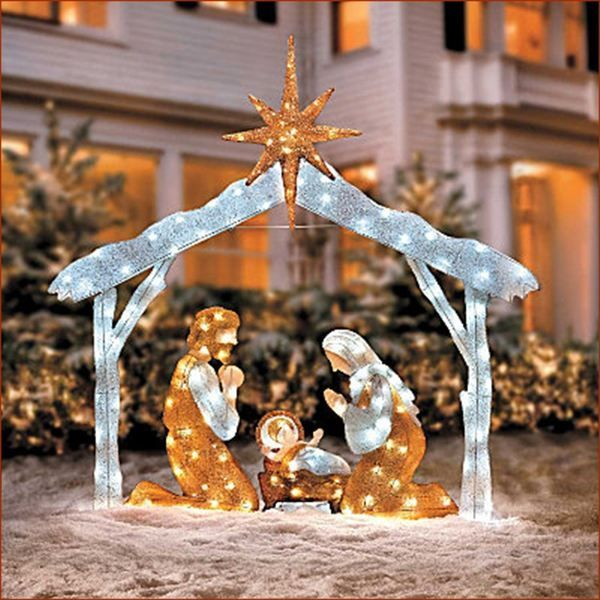 20 Wonderful Outdoor Lighted Nativity Scene Picture Inspirational