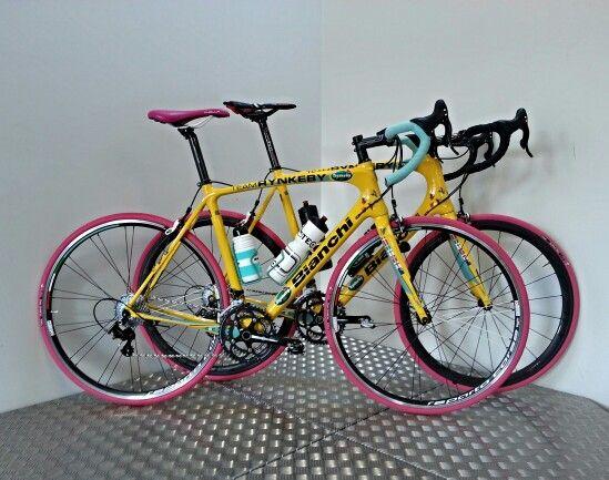 Tuned 2014 Bianchi Intenso rides ;-)