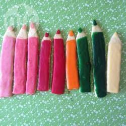 Buntstift-Plätzchen zum Schulanfang @ de.allrecipes.com