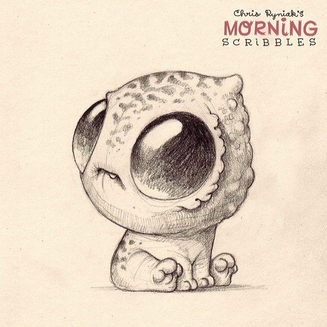Big head full of big dreams.  #morningscribbles