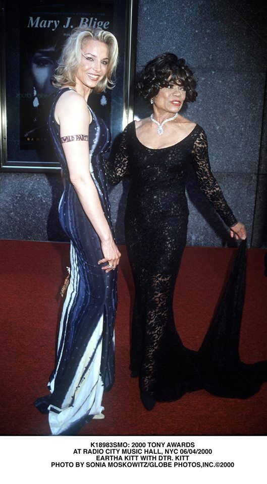 Eartha Kitt And Daughter Kitt Shapiro Mothers