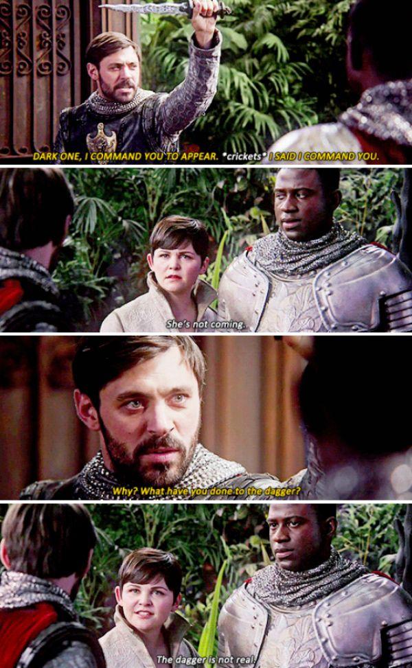"""King Arthur, Mary Margaret and Lancelot - 5 * 4 """"Broken Kingdom"""""""