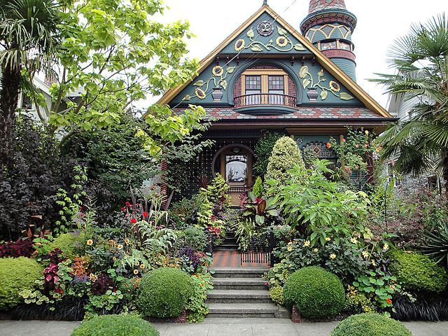 Beautiful House beautiful home outdoors window house building decorate exterior apartment flowers. glorious