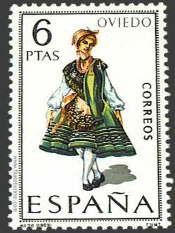 Oviedo sello de correos asturias