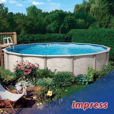 7 best aboveground swimming pools images on pinterest for Above ground pool buying guide