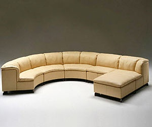 Chaise Sofa Contemporary semi circle sofa