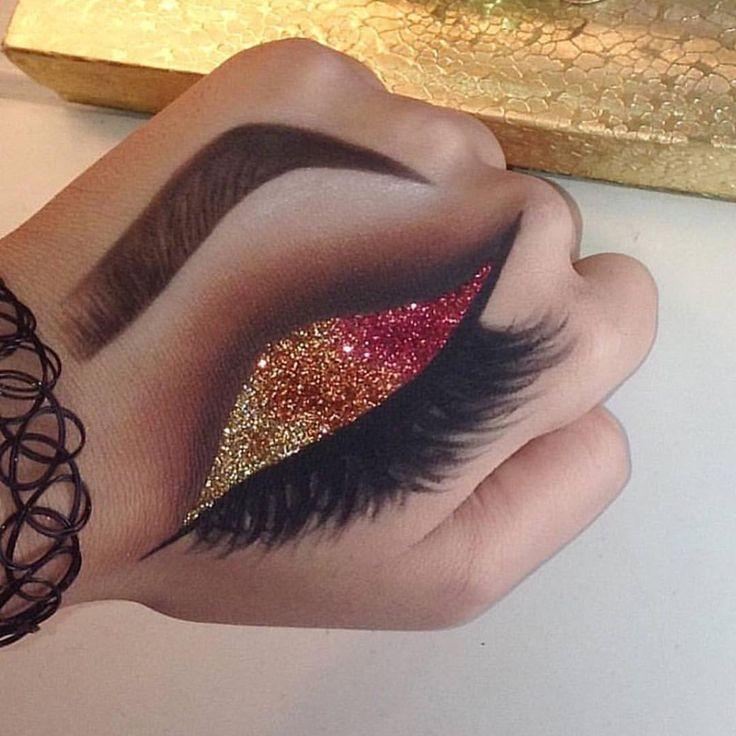 "Mona Monica Kattanمنى القطان on Instagram: ""Art! @gina.makeup """