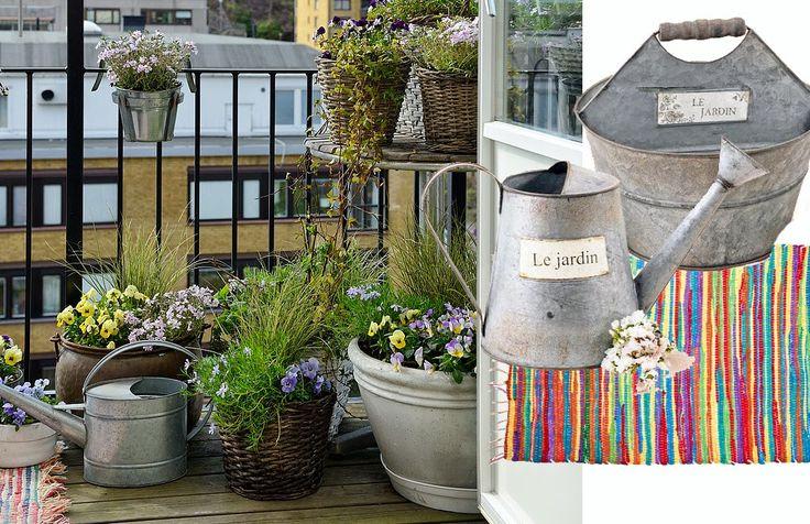 Al Aire libre: Viste de color tu balcón con ideas frescas.   c@sas de pelicula
