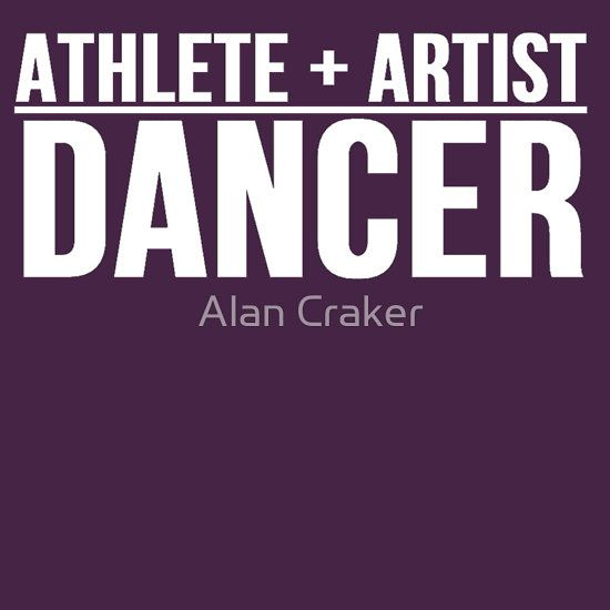 #Athlete + #Artist = #Dancer Tshirt