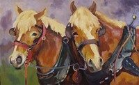 Two Hearts one Hitch Fine Art Print