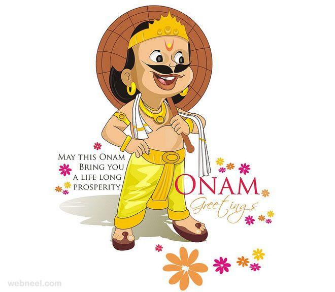 25 Beautiful Onam Greeting Card Designs and Onam Wishes. Read full article: http://webneel.com/onam-greetings-wishes | Follow us www.pinterest.com/webneel