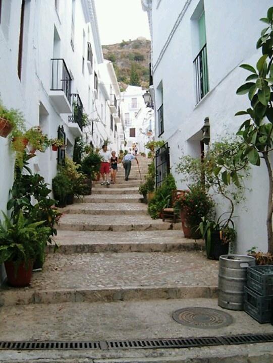 frigliana Spain - i have many a fond memory of holidays here
