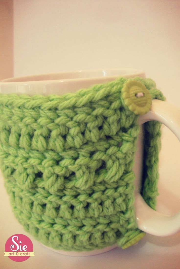 Cozy cup: Green love ♥