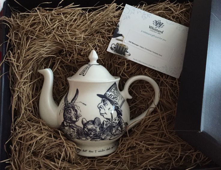 Alice in Wonderland - Mad Hatters Teapot from Whittard's - Christmas present! Love it!