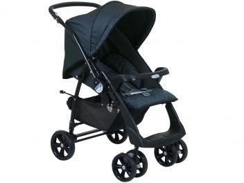 Carrinho de Bebê Passeio Burigotto AT6 Reclinável - 3 Posições para Crianças até 15kg