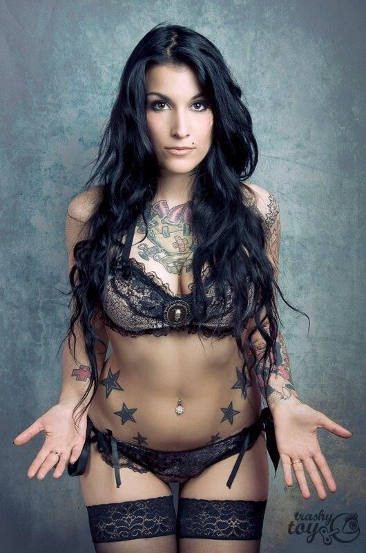 how to become an inked model