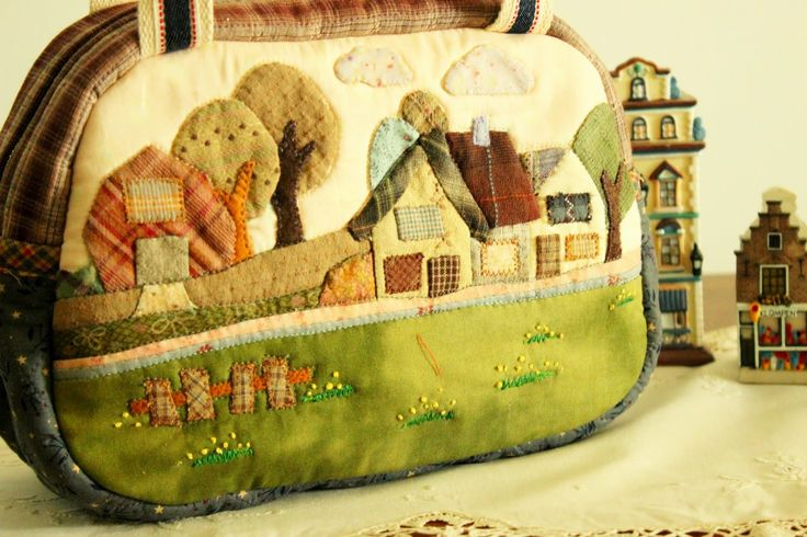 Welcome to Story Quilt: New Tote bag , About Anne, of green gable ? Maybe ^v^