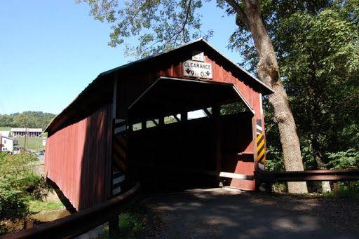 Крытые мосты Пенсильвании - мост Девис (Davis Covered Bridge)