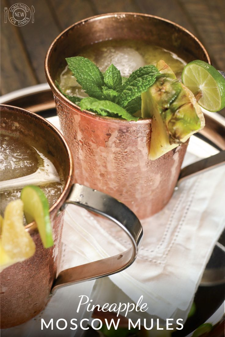 My Pineapple Moscow mule is a refreshing blend of pineapple, lime, vodka and ginger beer. The perfect summer drink when you are dreaming of the tropics.