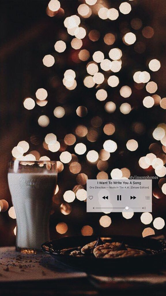 """I Want To Write You A Song"" Winter Lockscreen 