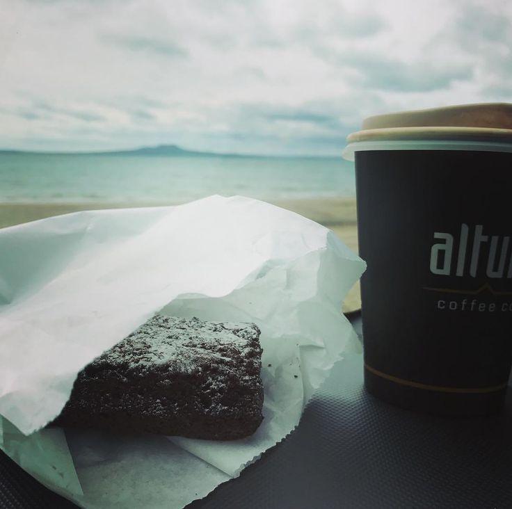 #the beach #dark mocha #chocolate earth brownie#soulcravings#bliss
