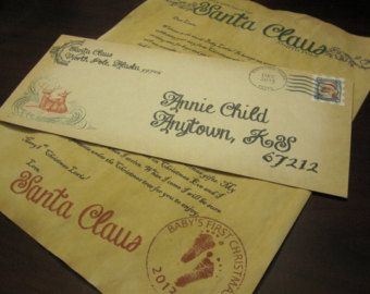 thank you letter from santa free - Google Search