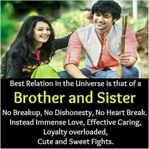 brothers and sister relationship The brother sister relationship is known for elements like friendship and support at weddings, brother sister dances are normally held as a replacement of father/daughter dance (if the father is ill or passed away.