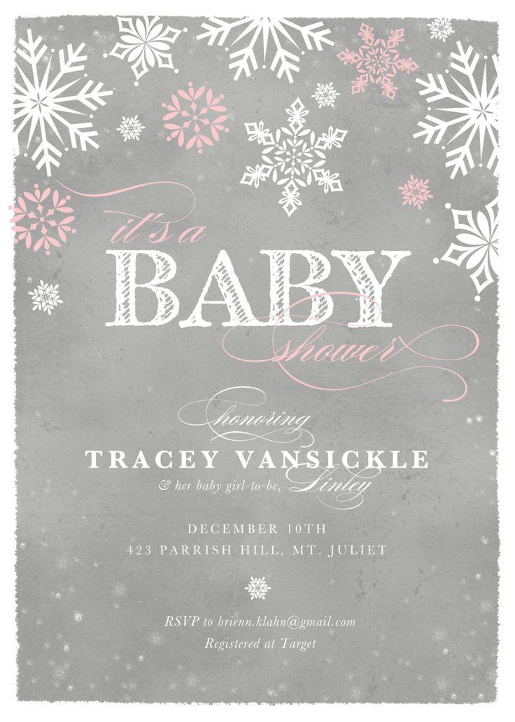 Snow Baby, Winter Baby Shower (30). $56.70, Via Etsy.