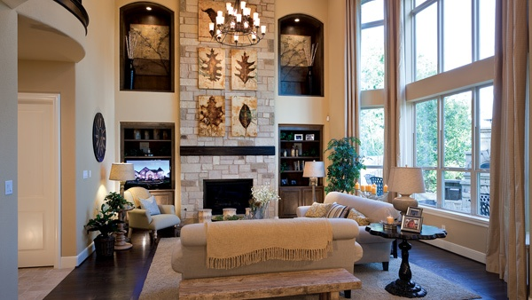 Toll Brothers Haggard Estates The Bellwynn Family Room