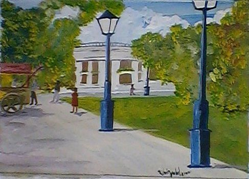 Plaza Independencia by Ruben Yubel
