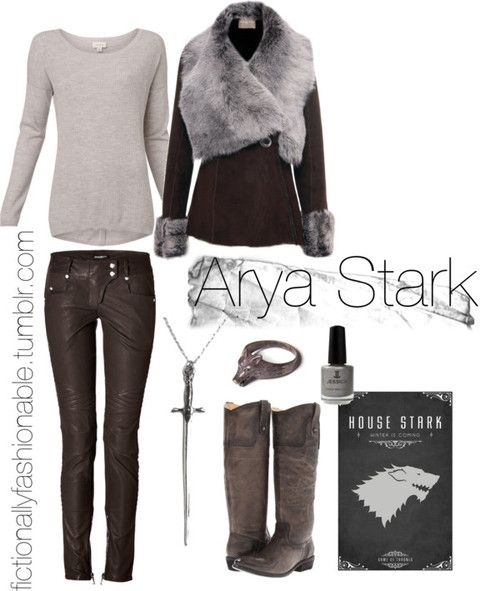 Game of Thrones Series: III - Arya Stark Arya... | Fictionally Fashionable