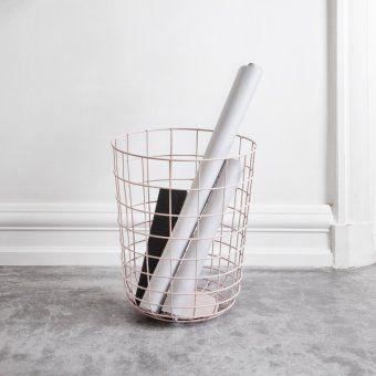 Kosz druciany Copper - MENU - DECO Salon #basket #homeaccessories