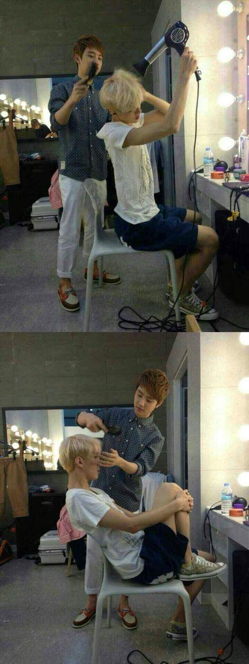 Sehun kyungsoo sesoo iphonearchive EXO
