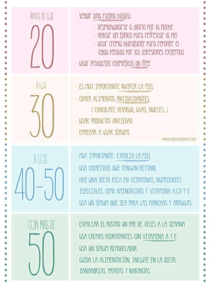 Consigue más consejos para cuidar tu piel en... http://www.1001consejos.com/consejos-para-cuidar-la-piel-a-los-20-30-y-40-anos/