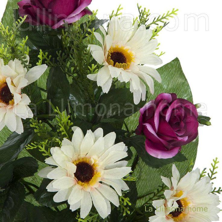 M s de 1000 ideas sobre flores artificiales en pinterest for Plantas decorativas artificiales df