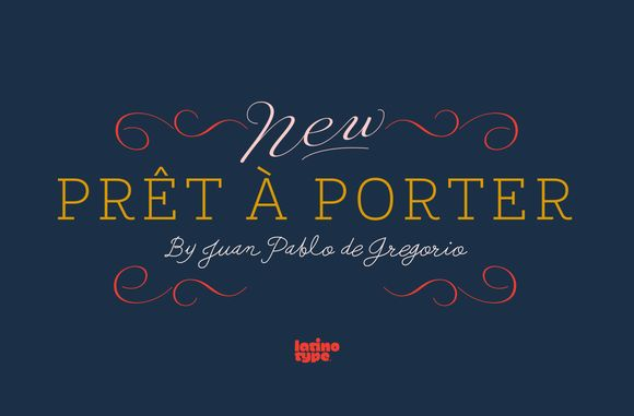 Prêt-à-porter Family - 79% off! by Latinotype on @creativemarket
