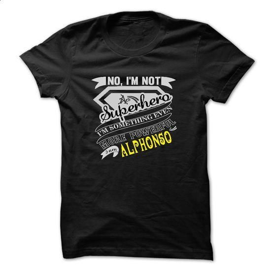 ALPHONSO. No, Im Not Superhero Im Something Even More P - t shirt printing #tshirt frases #sweater vest