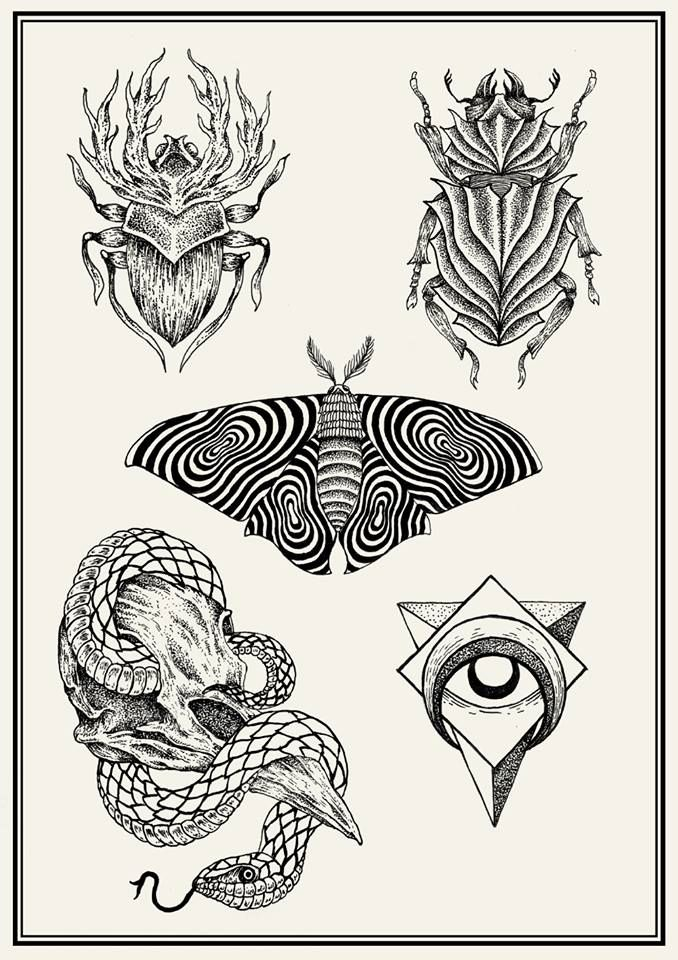 tattoo flash sheets2