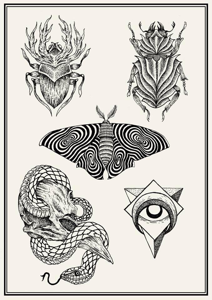 tattoo flash sheets2